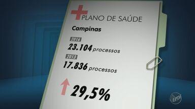 Número de usuários insatisfeitos com planos de saúde cresce na região - Só em campinas, em 2016, foram abertos mais de 23 mil processos.