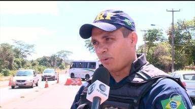 Movimentação intensa nas BRs na volta do carnaval no Piauí - Movimentação intensa nas BRs na volta do carnaval no Piauí