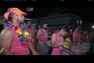 Escola de Samba Voz do Morro arrastou multidões em Simonésia - Conheça melhor integrantes do grupo.