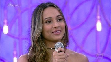 Thaíssa Carvalho não desfilou porque está em cartaz no teatro - Peça 'Neura' estreia nesta semana, no Rio de Janeiro