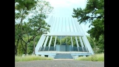 Depois de ficar fechado por dois meses, Parque da Medianeira é reaberto em Santa Maria, RS - A segurança foi reforçada depois que crimes foram registrados dentro do parque.