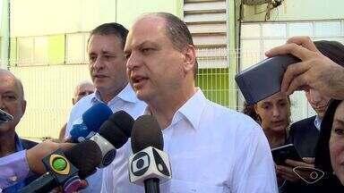 Ministro da Saúde visita locais de vacinação da febre amarela no ES - Ricardo Barros acompanhou vacinação contra febre amarela no estado.