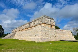 Berço da civilização maia é destaque no especial sobre o México. (Bloco 01) - Em Uxmal estão as primeiras construções que marcam a civilização maia.
