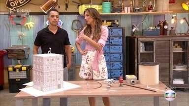 Especialista mostra como fazer a manutenção de para-raios - José Barbosa explica como o equipamento protege as casas e prédios e fala da importância de manter toda a estrutura em ordem para perfeito funcionamento