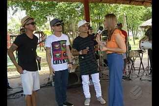 Grupo 'I Love Pagode' canta ao vivo no programa É do Pará - Banda tem dois anos de estrada e se prepara para lançar músicas autorais.
