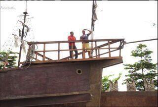 #Partiu mostra a prática de esportes radicais em Acaraú - Prática do skysurf é comum na cidade.