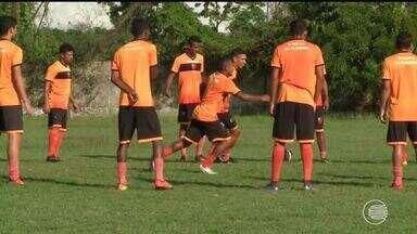 Treino do Flamengo-PI foi leve para preservar jogadores para rivengo - Treino do Flamengo-PI foi leve para preservar jogadores para rivengo
