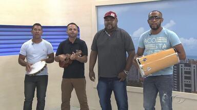 Samba do Batalhador anima este sábado com clássicos da música brasileira - Grupo mostra um pouco do repertório no estúdio da TV Gazeta.