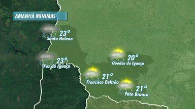 Veja a previsão do tempo para este domingo - Deve chover na fronteira.