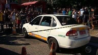Taxista é assassinado em Nossa Senhora do Socorro - Taxista é assassinado em Nossa Senhora do Socorro.