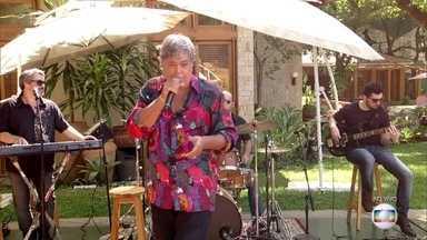 """Sidney Magal canta """"Se te agarro com outro te mato"""" - Cantor comemora cinquenta anos de carreira"""