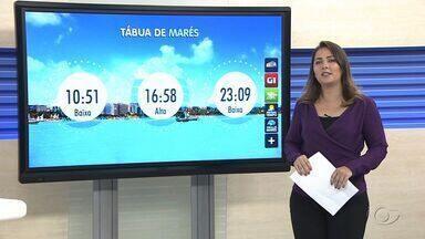 Confira a previsão do tempo para esta terça-feira - A repórter Carolina Sanches traz mais informações sobre a temperatura climática.