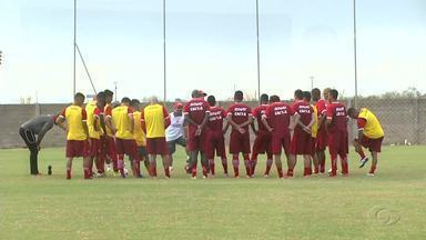 CRB se prepara para jogo contra o Santa Rita - Regatianos estão confiantes na classificação do clube para a próxima fase do Nordestão.