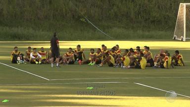 Vitória: Argel tenta ajustar o time na base da conversa - Confira as notícias do rubro-negro baiano.