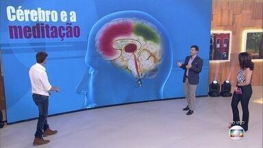 Dr. Fernando Gomes Pinto explica que mudar o jeito de pensar ajuda a reduzir o estresse - Mindfulness: objetivo é se concentrar apenas no momento presente