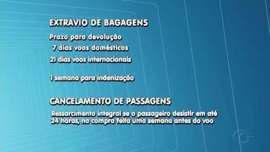 Liminar suspende novas regras da Anac sobre cobrança extra em despacho de bagagens - Mudanças seriam válidas a partir desta terça-feira (14).
