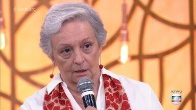 Esposa de Sílvio de Abreu explica seu interesse pela terceira idade - Maria Celia de Abreu é psicóloga e mantém instituto de reflexão voltado para o comportamento e o bem-estar dos idosos