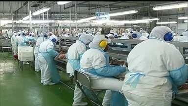 """Ministro da Agricultura pede reunião com países que o Brasil exporta carne - A """"Carne Fraca"""", o nome da operação, desvendou um esquema de venda de carne ilegal, tornado possível pela corrupção de fiscais federais."""