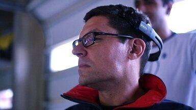 GP Respeito: tetraplégico pilota com a mente um carro de fórmula 1 - Projeto foi desenvolvido pela TV Globo.