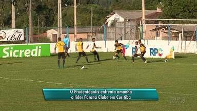 Prudentópolis enfrenta o líder Paraná Clube em Curitiba - O jogo será transmitido pela RPC às 16h.