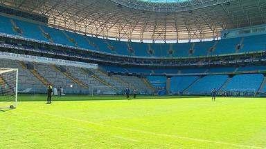 Grêmio enfrenta o Veranópolis neste domingo - RBS TV transmite jogo ao vivo a partir das 17h.