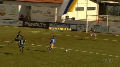 Os gols de Iporá 2 x 1 Rio Verde - Campeonato Goiano - Rodrigo Alves e Vinícius Leite marcam para o Lobo Guará. Saulo desconta para o Verdão.