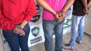 Polícia prende integrantes de quadrilha que roubava agrotóxicos na região - Um empresário de Maringá, acusado de revender o produto, está foragido