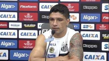 """Renato espera """"ajudinha"""" do Palmeiras para o Santos conseguir se classificar no Paulistão - Renato espera """"ajudinha"""" do Palmeiras para o Santos conseguir se classificar no Paulistão"""