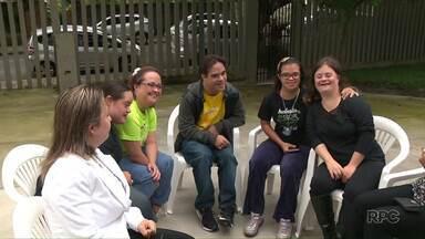 Hoje é dia internacional da Síndrome de Down - E, para marcar a data, o Paraná Tv apresenta uma reportagem especial com portadores da síndrome que são exemplos de superação!