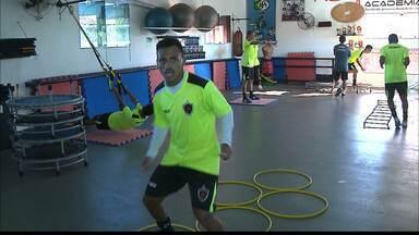 Fernandinho quer agarrar a oportunidade e se manter no time titular do Botafogo-PB - Atacante começou o jogo contra o Auto Esporte e marcou o seu primeiro gol pelo Belo