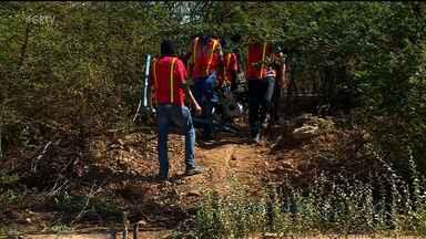 Polícia Federal realizou operação no perímetro irrigado Senador Nilo Coelho - Operação é para coibir o furto de água do canal de irrigação.
