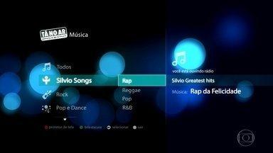 Silvio Songs abre playlist - Curta os hits 'Coração Partido' e 'Rap da Felicidade'