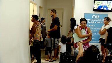 Vacinação é retomada em Rio das Ostras, RJ, nesta terça-feira - Movimento foi grande nos postos de saúde da cidade.