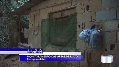 Caraguá segue em alerta por causa da chuva das última semanas - Cidade tem 54 áreas de risco que estão sendo monitoradas.