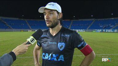 Volante Germano avalia empate do Londrina com o Paraná - Volante Germano avalia empate do Londrina com o Paraná