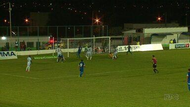 Foz Futebol vence equipe do Prudentópolis - O Azulão venceu por 2 a zero e aumentou a esperança de fugir do rebaixamento.