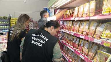 Procon e Vigilância Sanitária fiscalizam o comércio de carnes em Maringá - Fiscais estão percorrendo açougues e supermercados da cidade