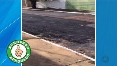 Prefeitura começa a tapar buracos que incomodavam moradores - Prefeitura começa a tapar buracos que incomodavam moradores.