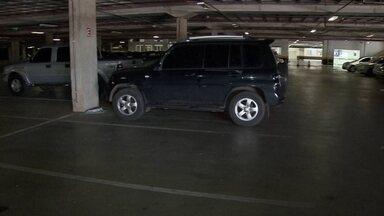 Polícia investiga série de roubo de carro em estacionamento de shopping popular no DF - Polícia investiga série de roubo de carro em estacionamento de shopping popular no DF.