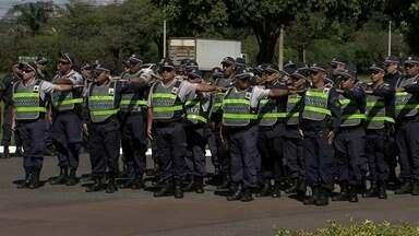 Comando da PM reforça ruas do DF - A ideia é enfrentar os crimes que estão aumentando muito.
