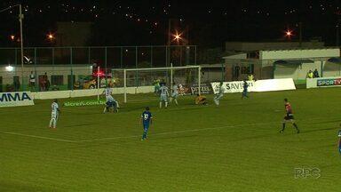 Prudentópolis sofre a primeira derrota em casa pelo Campeonato Paranaense - O time perdeu de 2 a 0 pro Foz do Iguaçu. O próximo confronto é contra o Cascavel.