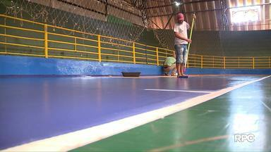 Ginásio Costa Cavalcante está revitalizado - Local irá receber uma das competições mais importantes do futsal nacional.