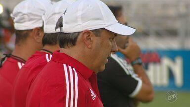 Gilson Kleina assumiu treinos do Ponte Preta na tarde desta quinta - Estreia do novo técnico é neste domingo (26) contra o Sorocaba.