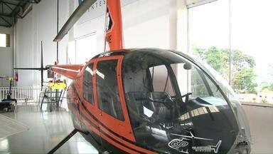 Polícia investiga procedência de helicóptero apreendido no sudoeste - Aeronave estava com irregularidades na documentação.