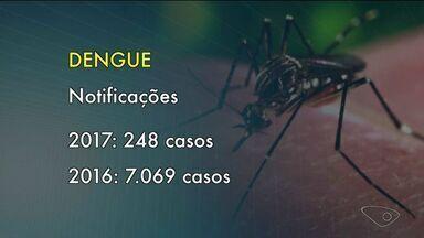 Cachoeiro de Itapemirim tem 248 casos suspeitos de dengue notificados - No ano anterior, esse número era muito maior.