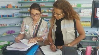 Visa interdita farmácia irregular na Zona Oeste de Manaus - Dono de local tem 72 horas para apresentar defesa.