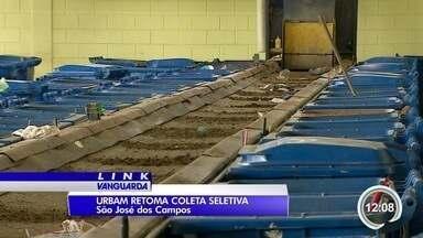Urbam retoma coleta seletiva - Lixo comum volta a ser separado do lixo reciclável.
