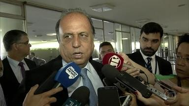 Projeto que cria Regime de Recuperação Fiscal dos estado entra na pauta da Câmara amanhã - Governador do Rio, Luiz Fernando Pezão, está em Brasília para acompanhar a votação do projeto.