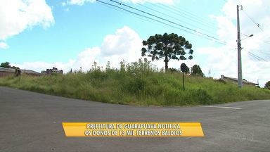 Prefeitura de Guarapuava notifica donos de 13 mil terrenos baldios - Quem não limpar o terreno vai levar multa.