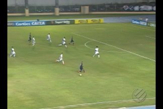 Remo perde por 3 a 0 para o Santos-AP e está eliminado da Copa Verde - Em noite impecável, o Peixe derrotou o Leão por 3 a 0, no Estádio Olímpico Zerão, em Macapá. Agora, o alvinegro espera adversário de Águia de Marabá e Paysandu